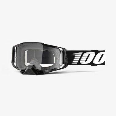 Oculos 100% Armega - Lente Cristal - Preto