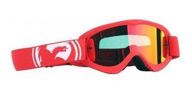 Óculos DRAGON MDX GOLD - Vermelho