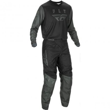 Conjunto Calça + Camisa FLY F16 2021 - Preto/Cinza