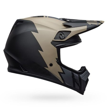 Capacete BELL MX9 MIPS - Khaki/Preto Fosco