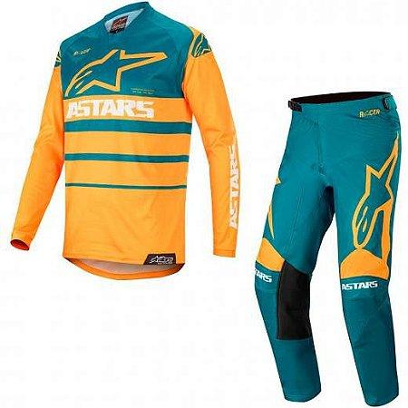 Conjunto Calça + Camisa ALPINESTARS Racer Supermatic