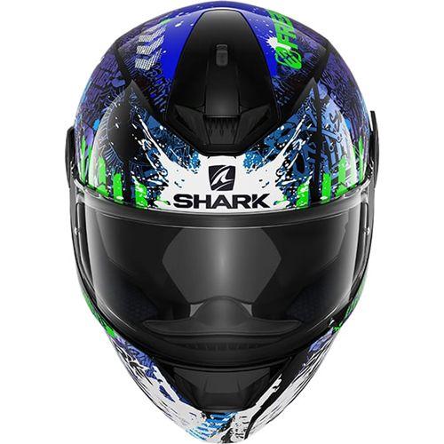 Capacete SHARK D-Skwal Switch Rider 2 - Preto/Azul/Verde
