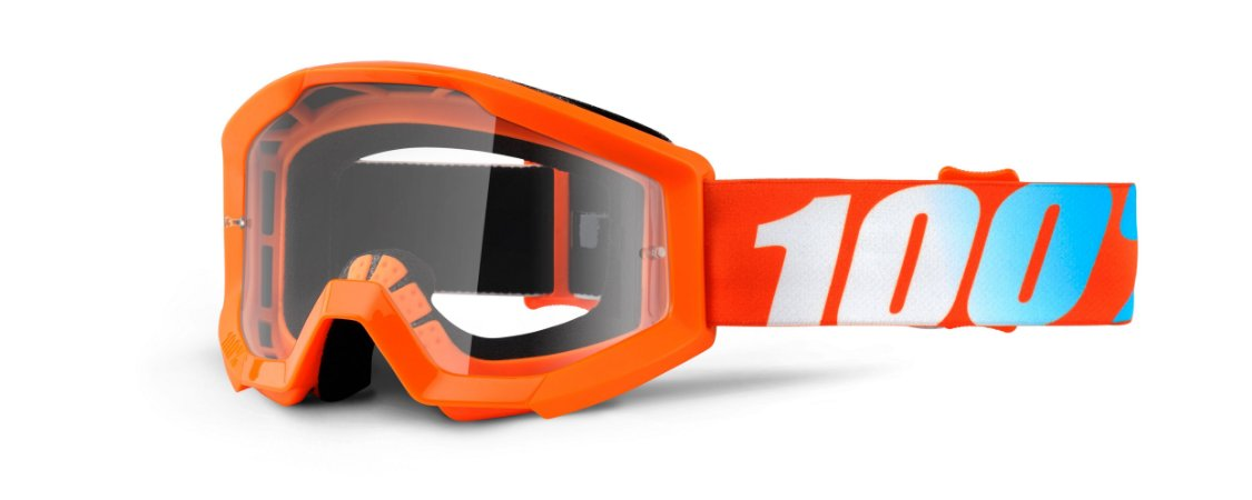Óculos 100% STRATA - Laranja