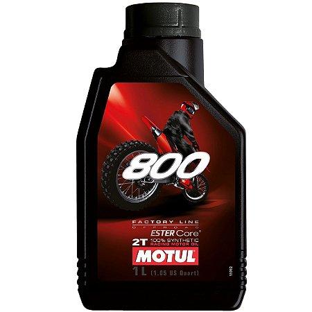 Oleo MOTUL 2T 800 100% Sintético