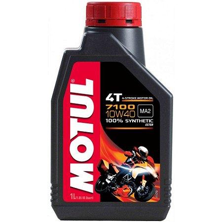 Oleo MOTUL 7100 10W40 4T 100% Sintético