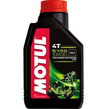 Oleo MOTUL 5100 10W30 4T Semissintético