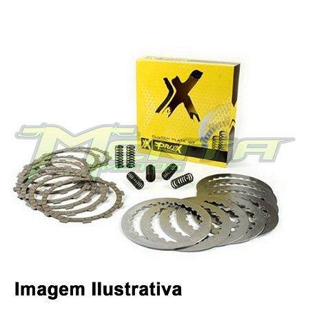 Kit Disco Embreagem + Mola + Separador KXF450 10/18 Prox