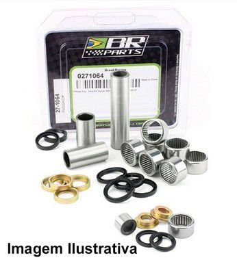 Rolamento Do Link BR Parts Yzf 250/450 05 + Wrf 250/450 05 Br Parts