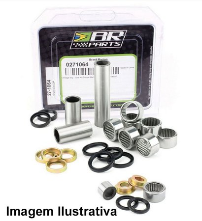 Kit Rolamento Link Yz125/250 02/04 + Yzf250 02/04 Br Parts