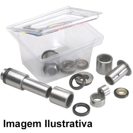 Kit Rolamento Balanca Cr125 89/92 + Cr250 88/91