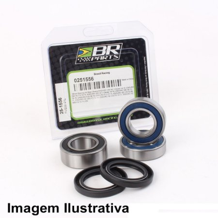Rolamento de Roda Dianteira Kawasaki KX125/250 93-07 + KXF250 04-18