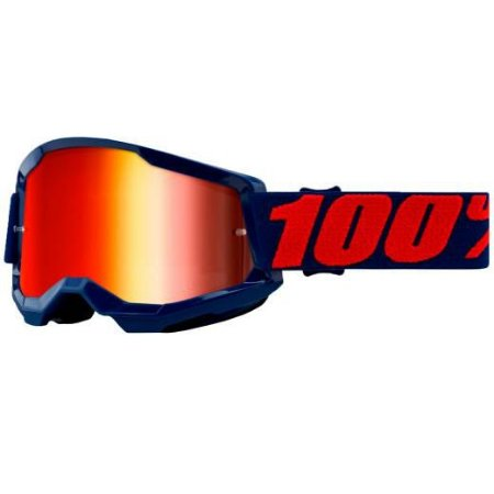 Óculos 100% Strata 2 Masego Lente Espelhada