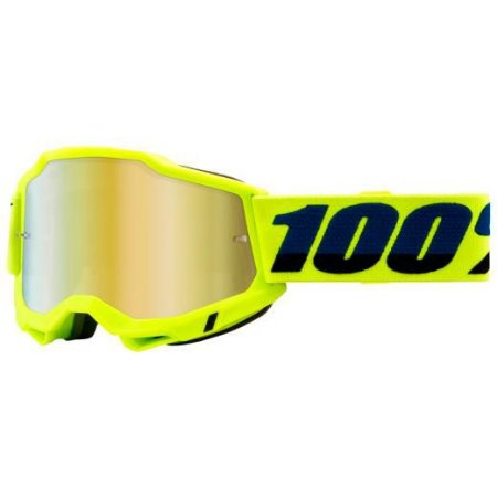 Óculos 100% Accuri 2 Yellow Lente Espelhada