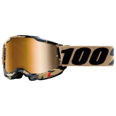 Óculos 100% Accuri 2 Tarmac Lente Espelhada