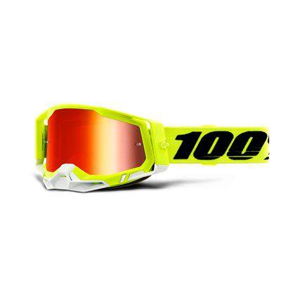 Óculos 100% Racecraft 2 - Amarelo