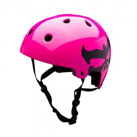 Capacete Kali Maha Logo - Rosa Neon