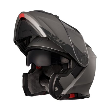 CAPACETE X11 TURNER SOLIDES - CHUMBO METAL