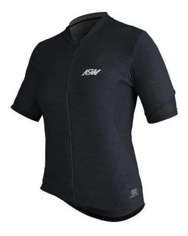 Camisa ASW Essentials Feminina Preta