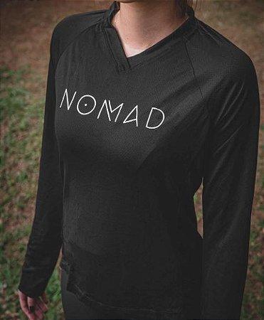 Camisa Feminina Nomad  Manga longa