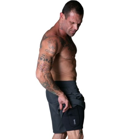 MAN SHORTS NPND VELOCITY GRAY