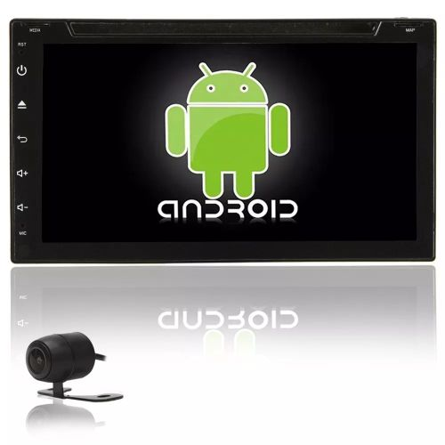 CENTRAL MULTIMÍDIA UNIVERSAL WIFI WAZE DVD BT ANDROID