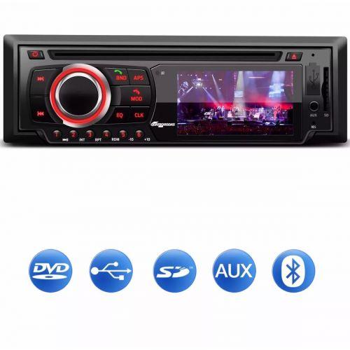 DVD PARA CARRO TOCA CD MP3 USB SD BLUETOOTH SIMILAR H-BUSTER