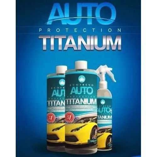 ECOTREND AUTO PROTECTION TITANIUM 946ML + BORRIFADOR BRINDE