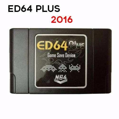 ED64 PLUS ENHANCED VERSION P/ N64 - NINTENDO 64