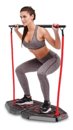 Genis Fitness Plataforma De Exercícios Transformer Full Body