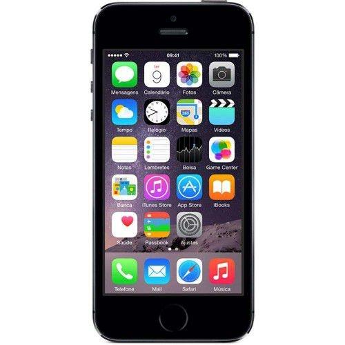 IPHONE 5S APPLE 16GB CINZA ESPACIAL ME432BR/A