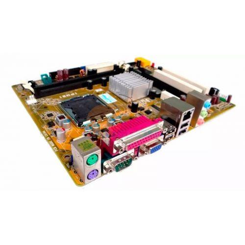 KIT INTEL LGA 775 -C2D E8400 + PLACA MÃE + COOLER + 2GB DDR2