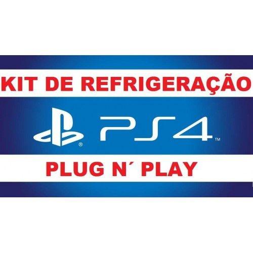 KIT REFRIGERAÇÃO PS4 - [PLUG N´PLAY]