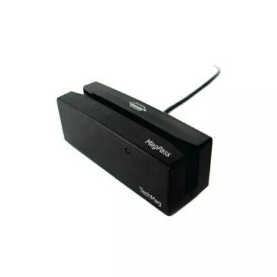 LEITOR DE CARTÃO MAGNÉTICO CIS MAGPASS MPII-S174 9074-USB