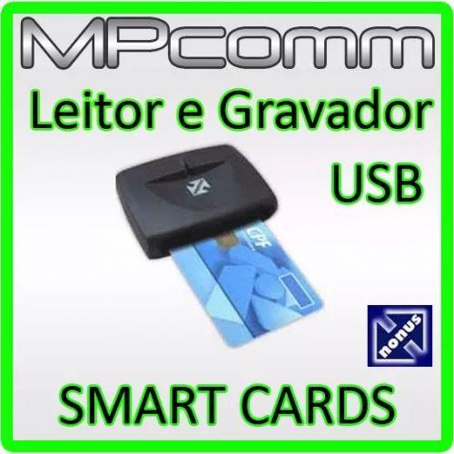 LEITOR GRAVADOR SMARTCARD NONUS E-CPF E-CNPJ NF-E