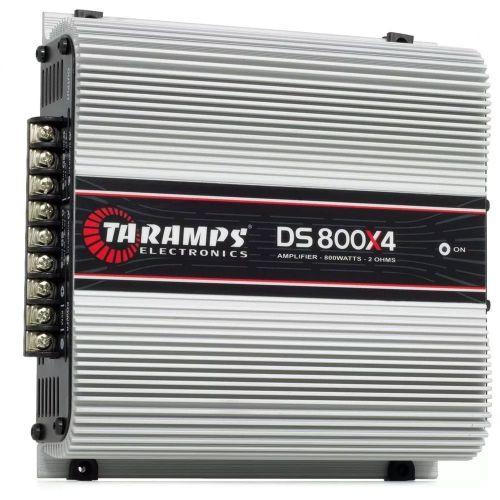 MÓDULO DIGITAL TARAMPS DS800X4 CH 800 WRMS 2 OHMS