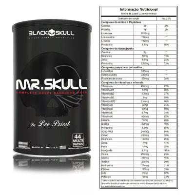 MR. SKULL MELHOR PACK DO MUNDO ANIMAL PACK 44 PACKS