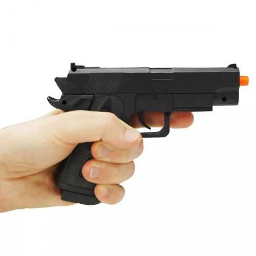 PISTOLA AIRSOFT MOLA SPRING TOY P04 6MM - QGK