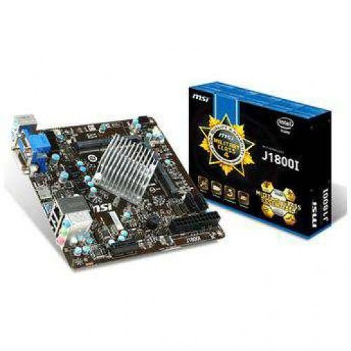 PLACA MAE J1800I PROC. INTEL CEL DUAL CORE - MSI