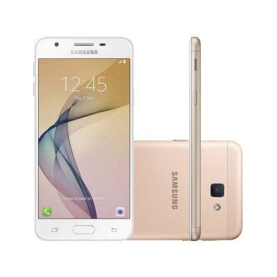 SMARTPHONE SAMSUNG GALAXY J5 PRIME 32GB DOURADO - DUAL CHIP 4G CÂM. 13MP + SELFIE 5MP FLASH TELA 5""