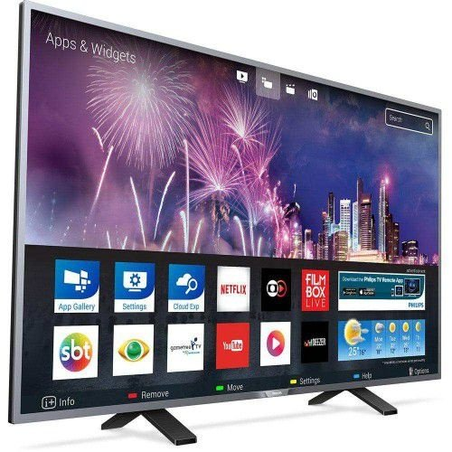 "SMART TV LED 32"" PHILIPS 32PHG5201/78 COM CONVERSOR DIGITAL 2 HDMI 1 ENTRADA USB WI-FI INTEGRADO"