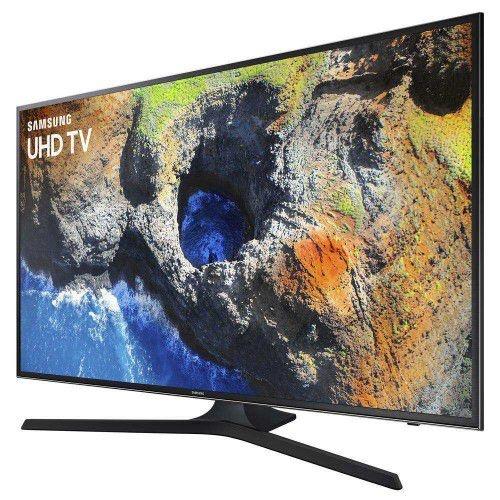 """SMART TV LED 40"""" UHD 4K SAMSUNG 40MU6100 COM HDR PREMIUM, PLATAFORMA SMART TIZEN, SMART VIEW, ESPELHAMENTO DE TELA, STEAM LINK, 3 HDMI E 2 USB"""