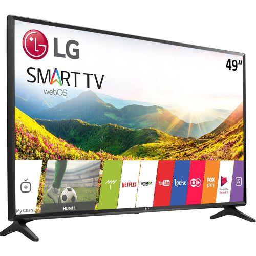 """SMART TV LED 49"""" LG 49LJ5500 FULL HD CONVERSOR DIGITAL WI-FI INTEGRADO 1 USB 2 HDMI WEBOS 3.5 SISTEMA DE SOM VIRTUAL SURROUND PLUS"""