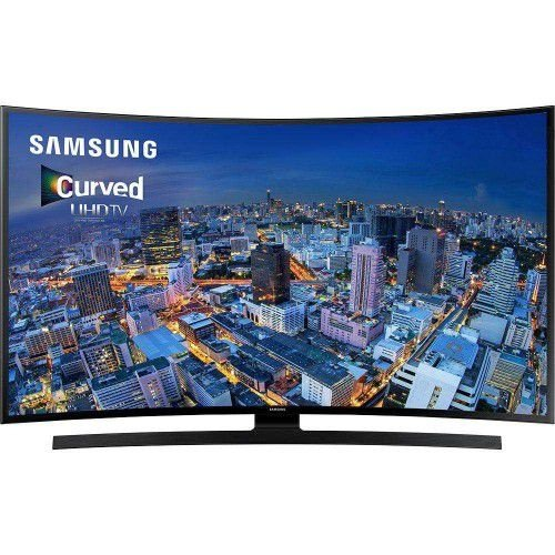 "SMART TV LED CURVA 55"" ULTRA HD 4K SAMSUNG 55JU6700 COM CONVERSOR DIGITAL 4 HDMI 3 USB WI-FI INTEGRADO FUNÇÃO GAME"