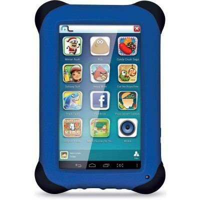 TABLET MULTILASER KID PAD 8GB QUAD CORE ANDROID 4.4 CAM 2.0 MP AZUL NB194