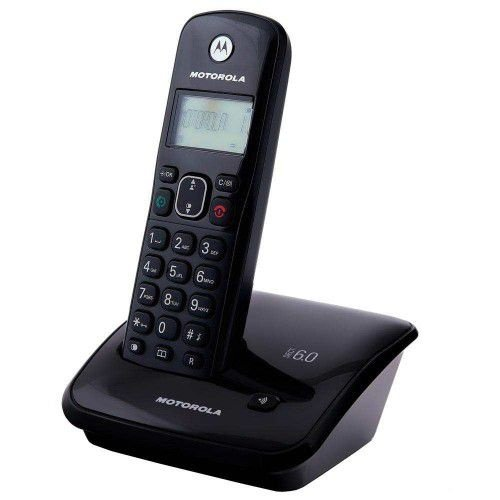 TELEFONE SEM FIO AURI 3000, DECT 6.0, IDENTIFICADOR DE CHAMADAS, VIVA-VOZ, AGENDA, DESPERTADOR, LIVRE DE INTERFERÊNCIA - MOTOROLA