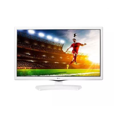 TV 24'' MONITOR LED LG BRANCA, HD, MODO CINEMA, GAMING MODE,