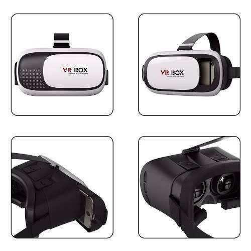 VR BOX OCULOS REALIDADE VIRTUAL CARDBOARD 3D RIFT + CONTROLE