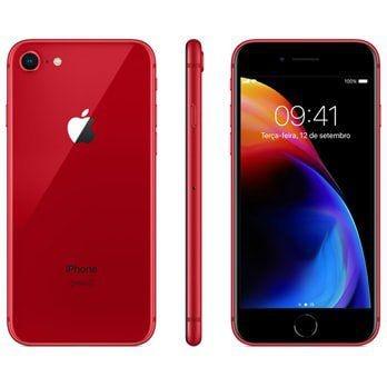 """iPhone 8 Apple com , Tela Retina HD de 4,7"""", iOS 11, Câmera de 12 MP, Resistente à Água, Wi-Fi, 4G LTE e NFC"""