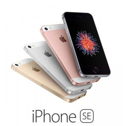"iPhone SE Apple 64GB 4G Tela 4"" - Retina Câm. 12MP iOS 11 Proc. Chip A9 Touch ID"