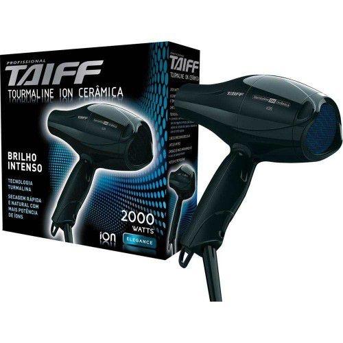 Secador de Cabelos Taiff Tourmaline Profissional 2000W